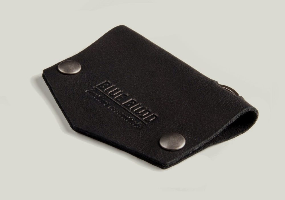 leather black keyholder